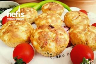 Aperatif Patatesli  Muffin (Yağsız) Tarifi