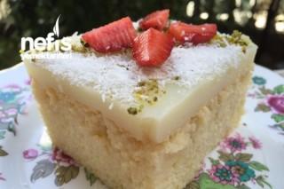 Gelin Pastası (Hazır pudingle) Tarifi