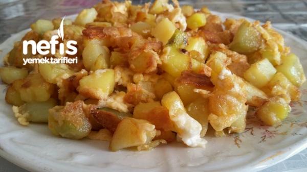 Patatesli Omlet - zeynep beyda - Nefis Yemek Tarifleri