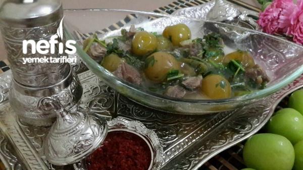 Alluciye (Yeşil Erikli Yöresel Mardin Yemeği)