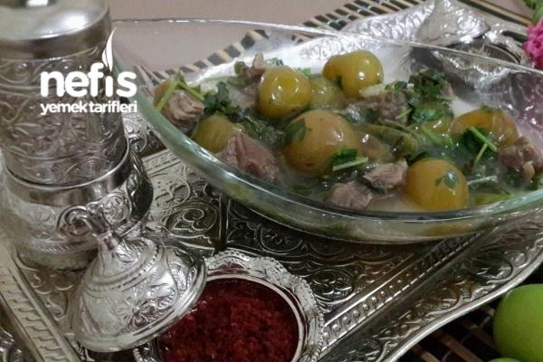 Alluciye (Yeşil Erikli Yöresel Mardin Yemeği) Tarifi