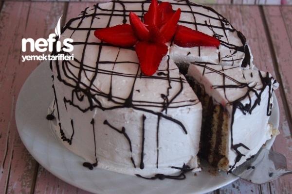Kalıpta Bisküvili Pasta Tarifi
