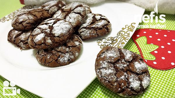 Çikolatalı Çatlak Kurabiye Tarifi Videosu