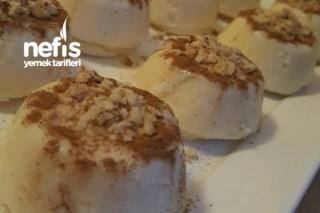 Tavuk Göğsü Tatlısı (Muffin Kalıplarında) Tarifi