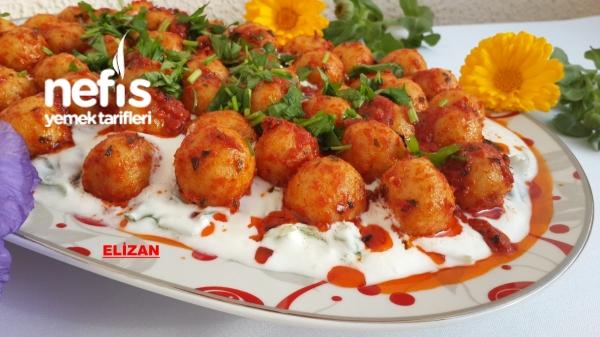Köfteli Semizotu Salatası