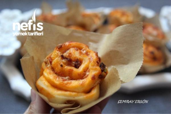 Muffin Pizza (mayalı)