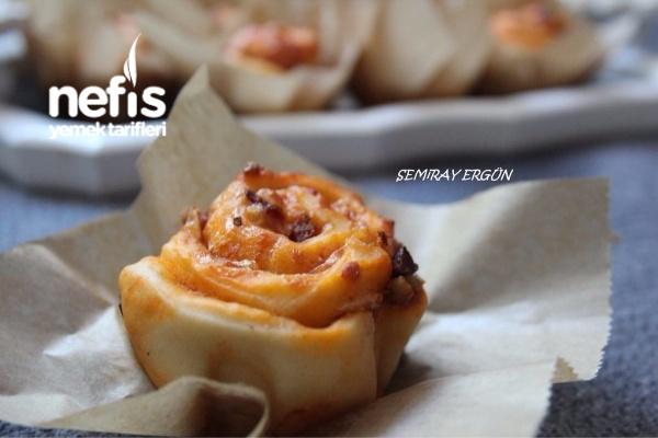 Muffin Pizza (Mayalı) Tarifi