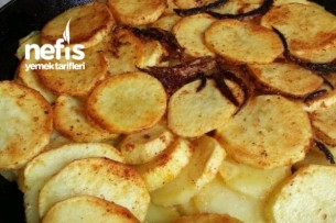 Patates (Dilim Tavası) Tarifi