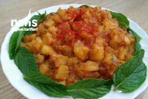 Kahvaltıya Pratik Patates Kavurması Tarifi
