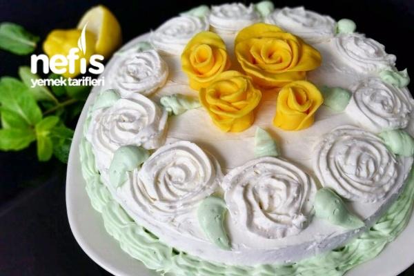 Limonlu Ferah Yaz Pastası