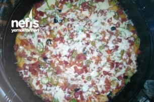 Benim Kolay Pizzam Tarifi