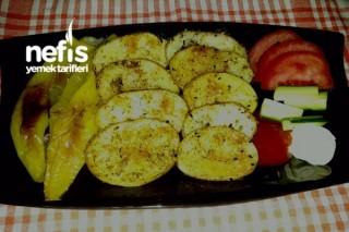 Fırında Halka Patates Ve Yeşilbiber Tarifi