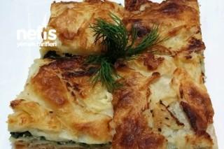 Ispanaklı Tulum Peynirli Börek Tarifi