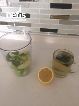 Hızla Zayıflatan Yeşil Elmalı Yeşil Çay