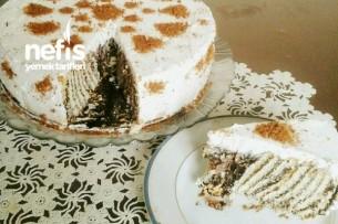 Bisküvili Pasta (Pudingsiz) Tarifi