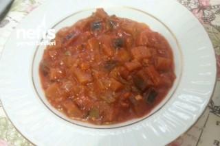 Domatessiz Nefis Patlıcan Türlüsü Tarifi
