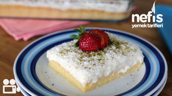 Gelin Pastası Videosu (Tam Kıvamında) Tarifi