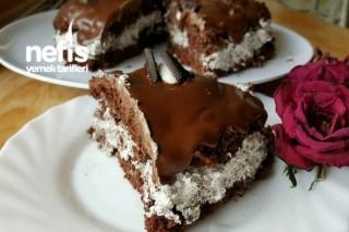 Oreolu Çikolata Pasta Tarifi