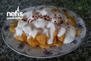 10 Dakikada Patates (Diyet) Tarifi