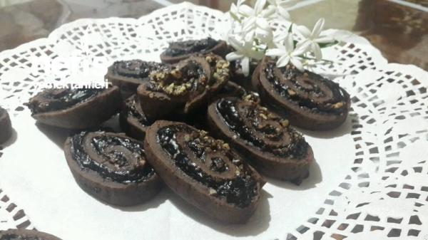 Cevizli Çikolatalı Rulo
