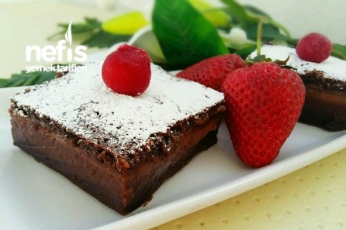 Çikolatalı Sihirli Kek (Chocolate Magic Custard Cake)