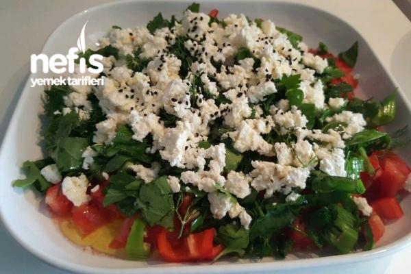 Çingen Salatası (Kahvaltılık) Tarifi