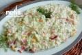 Yoğurtlu Nefis Kuskus Salatası Tarifi