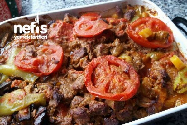Patetesli Patlıcanlı Kebap Tarifi