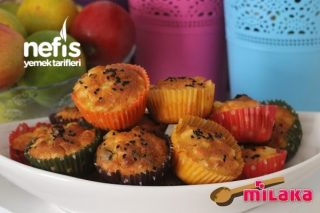 Patatesli Zeytinli Muffin Tarifi