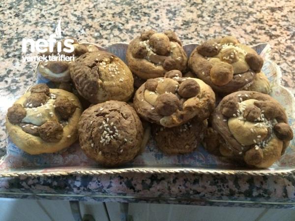 şekil  şekil tahinli kurabiye