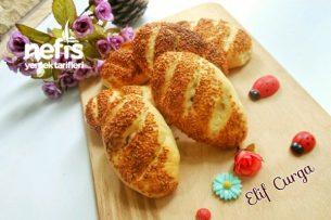 Simit Tadında Peynirli Poğaça Tarifi Videosu 91