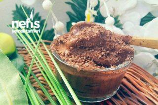 2 Malzemeli Kakaolu Dondurma Tarifi