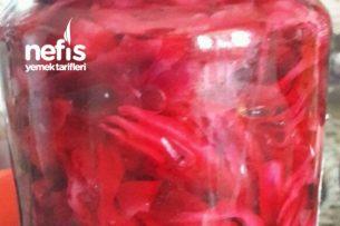 Bulaşık Makinasında Kırmızı Lahana Turşusu