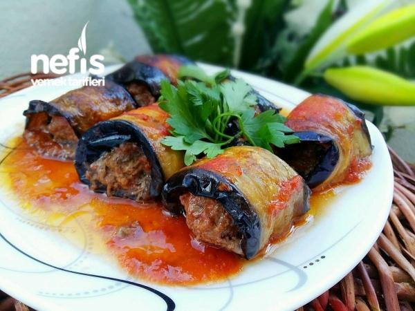 Rulo Patlıcan Kebabı