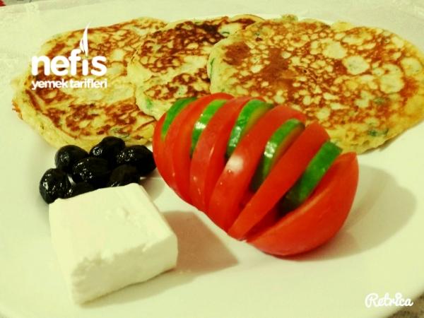 Sahurda Peynirli Pofuduk Pankek
