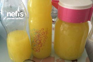 1 Portakal Ve Limon İle Limonata Tarifi