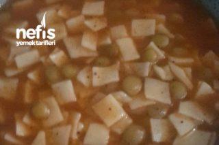 Yeşil Mercimekli Kesme Çorbası Tarifi