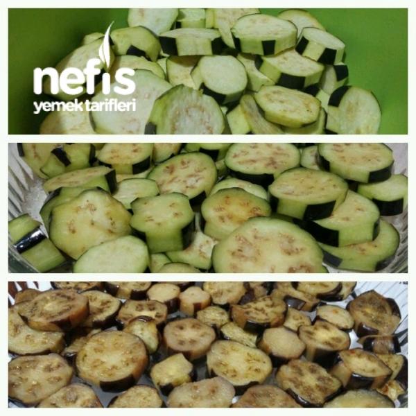 Fırında Nefis Patlıcan Graten(Kızartmadan Resimli )