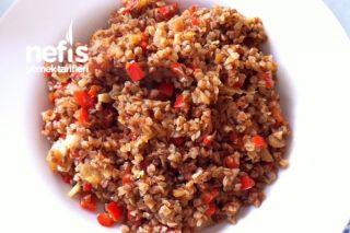Kırmızı Biberli Karabuğday Pilavı Tarifi