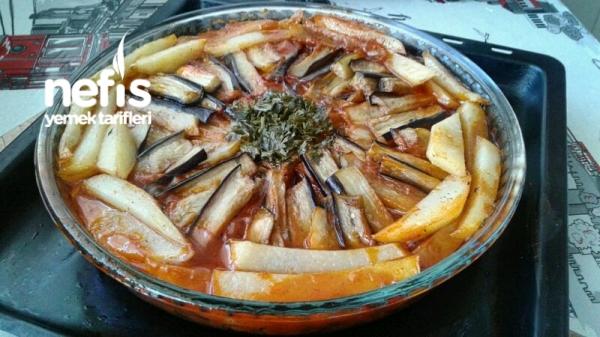 Patlıcan Kebabı (Adım adım aşamalarıyla)