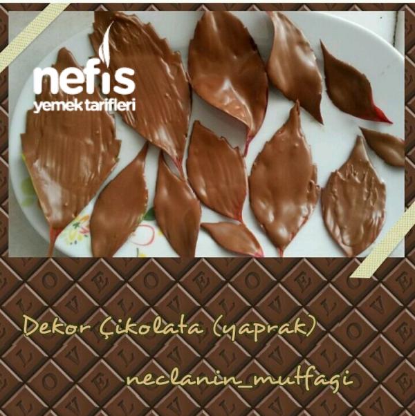 Dekor Çikolata