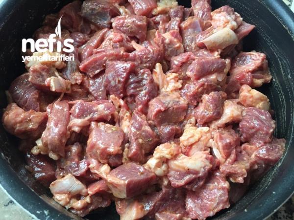 Lokum Kıvamında Et Kavurma