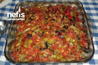 Fırında Patlıcan Tava Tarifi