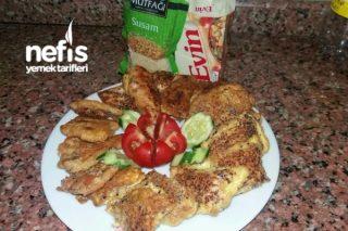 Sahura Pratik Yumurtalı Ekmek Tarifi