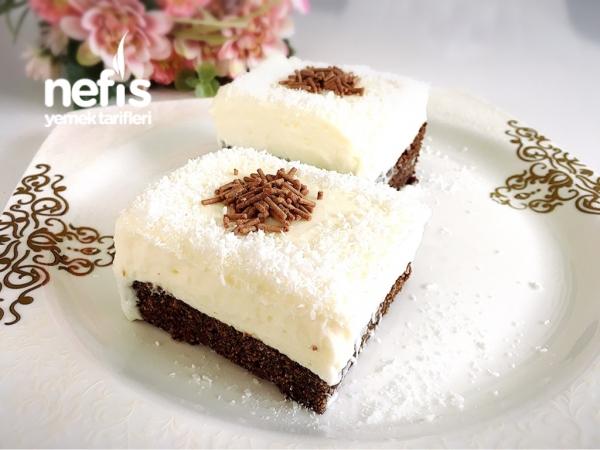 Çikolatalı Kadayıf Tatlısı