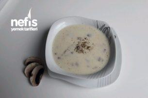 Enfes Tadıyla Kremalı Mantar Çorbası Tarifi