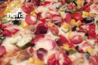 Lavaşlı Pizza Çok Pratik Tarifi