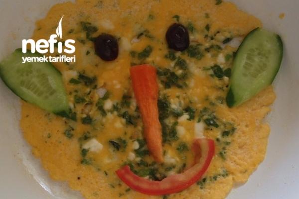 Çocuklar İçin Şirin Vitaminli Omlet Tarifi