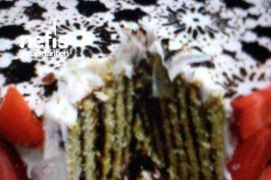 Kalıpda Bisküvili Pasta Tarifi
