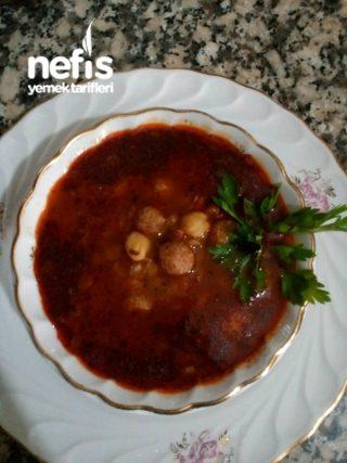 Yuvalama Köfte Çorbası (Sulu Köfte)